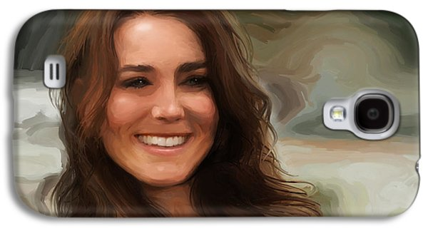 Kate Middleton Galaxy S4 Case by Jennifer Hotai