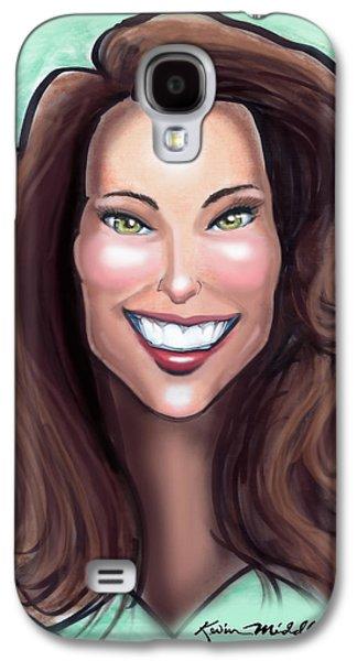 Kate Middleton Galaxy S4 Case by Kevin Middleton
