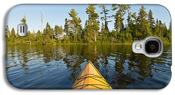 Kayak Adventure Bwca Galaxy S4 Case by Steve Gadomski