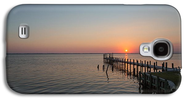 Kayaks In Sunset Galaxy S4 Case by Kay Pickens