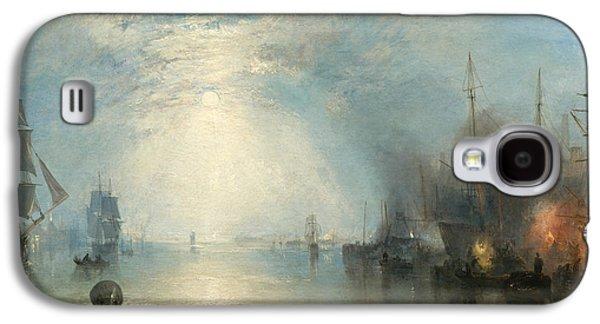 Keelmen Heaving In Coals By Moonlight Galaxy S4 Case by Joseph Mallord William Turner