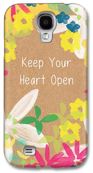 Keep Your Heart Open Galaxy S4 Case