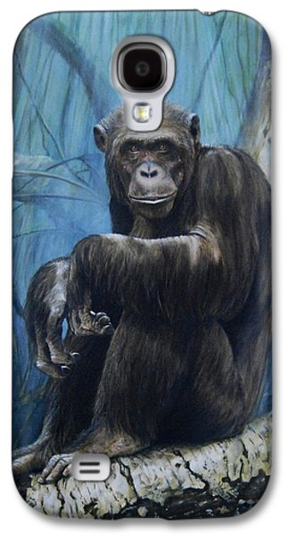 Monkey Galaxy S4 Case - Keeper Of The Congo by Dreyer Wildlife Print Collections