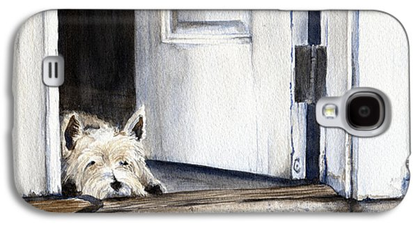 Keeping Watch Galaxy S4 Case by Michelle Sheppard