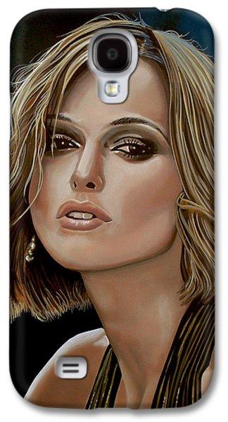 Keira Knightley Galaxy S4 Case by Paul Meijering