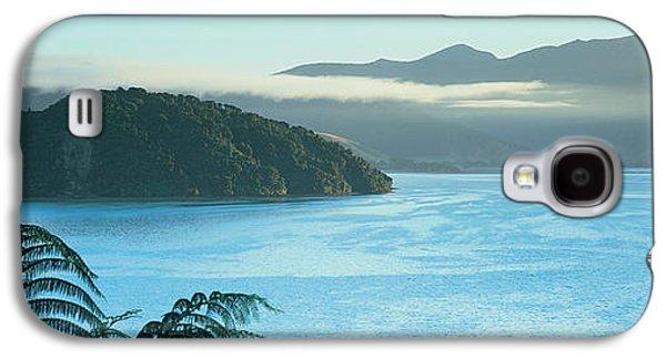Kenepuru, Marlborough Sound, New Zealand Galaxy S4 Case by Panoramic Images