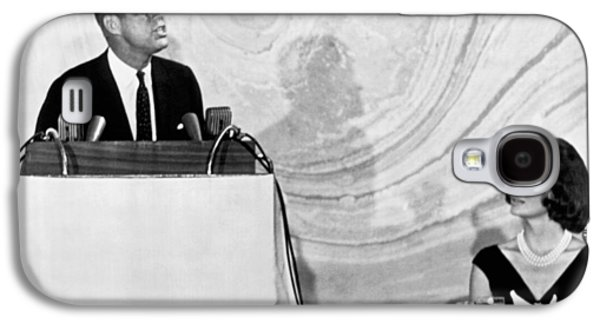 Kennedy Speaks At Fundraiser Galaxy S4 Case by Underwood Archives