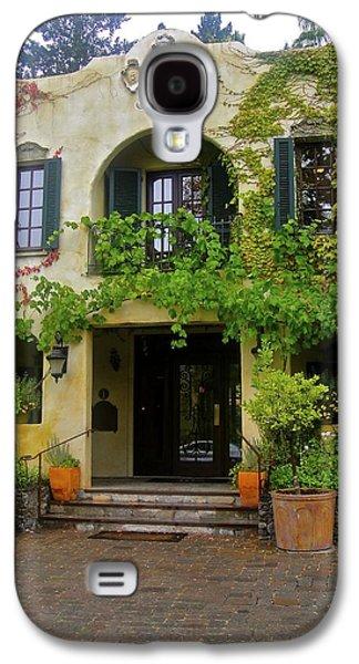 Kenwood Inn Napa Valley Galaxy S4 Case by Jennifer Lamanca Kaufman