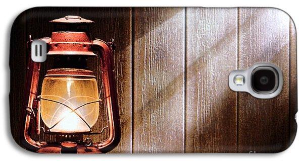 Kerosene Lantern Galaxy S4 Case by Olivier Le Queinec