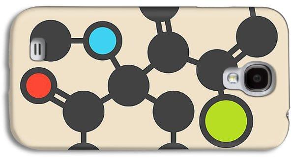 Ketamine Anesthetic Drug Molecule Galaxy S4 Case by Molekuul