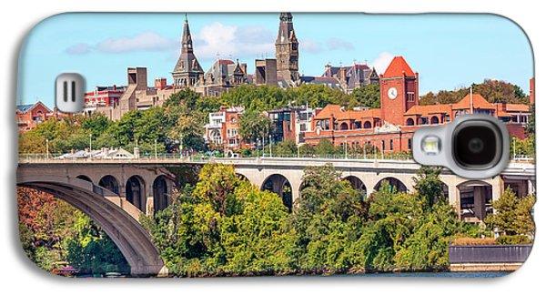 Key Bridge, Potomac River, Georgetown Galaxy S4 Case