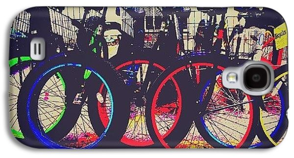 Decorative Galaxy S4 Case - Key West Bikes For Rent by Dani Hoy
