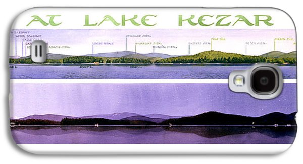 Kezar Lake View Galaxy S4 Case
