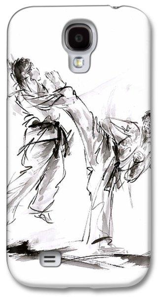 Kick. Galaxy S4 Case by Mariusz Szmerdt