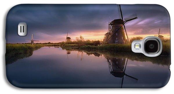 Kinderdijk Windmills Galaxy S4 Case