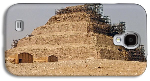 Galaxy S4 Case featuring the photograph King Djoser The Great Of Saqqara by Anthony Baatz