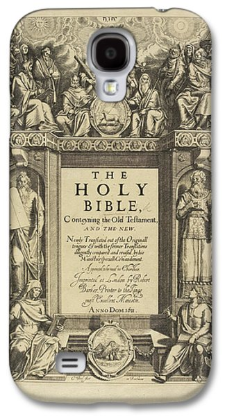 King James Bible Galaxy S4 Case by British Library