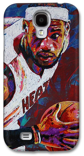 King James Galaxy S4 Case by Maria Arango