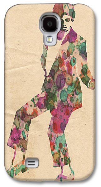 King Of Pop In Concert No 5 Galaxy S4 Case by Florian Rodarte