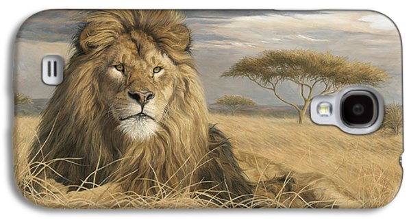 King Of The Pride Galaxy S4 Case by Lucie Bilodeau