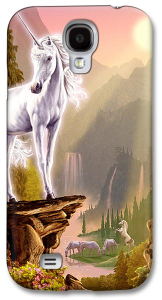 King Of The Valley Galaxy S4 Case by Garry Walton