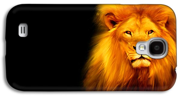 King's Portrait Galaxy S4 Case by Lourry Legarde