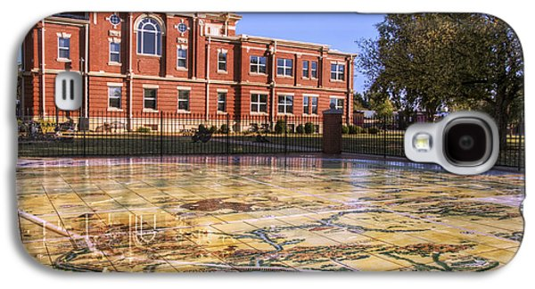 Kiowa County Courthouse With Mural - Hobart - Oklahoma Galaxy S4 Case