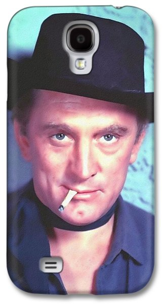 Kirk Douglas In Man Without A Star Galaxy S4 Case