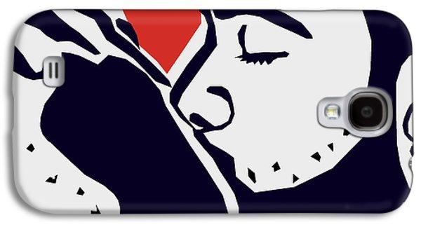 Kiss 2 Galaxy S4 Case by Mark Ashkenazi