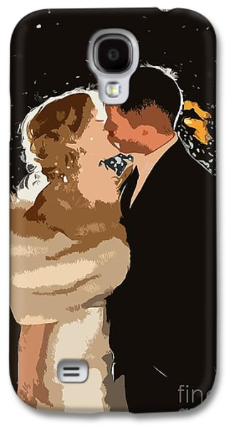 Kiss Galaxy S4 Case by Catherine Lott