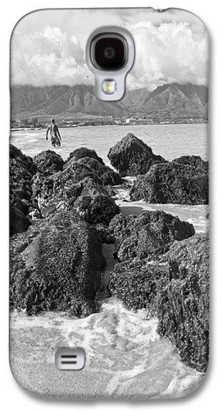 Kite Beach Maui Hawaii Galaxy S4 Case by Edward Fielding