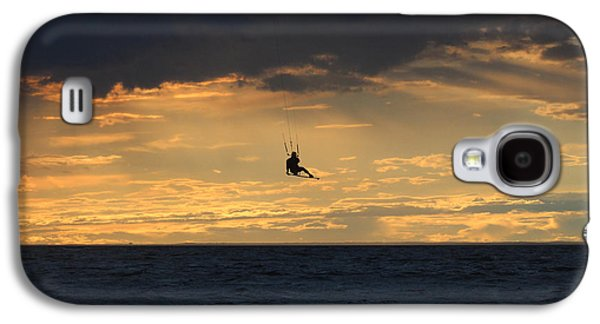 Kite Boarding West Meadow Beach New York Galaxy S4 Case