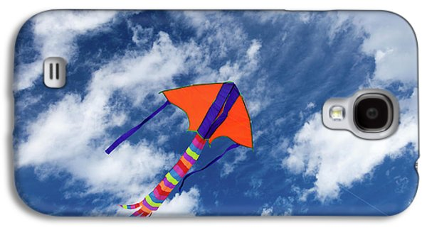 Kite Flying In Sky Galaxy S4 Case by Wladimir Bulgar