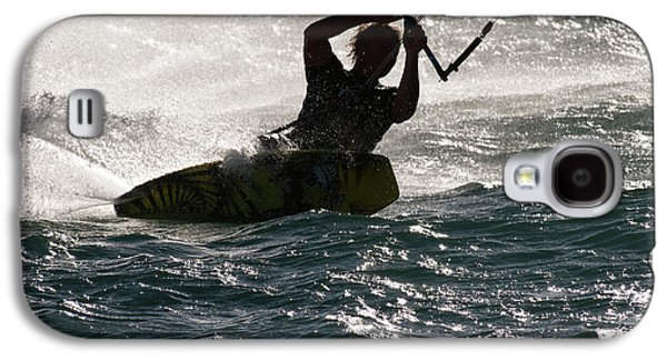 Kite Surfer 02 Galaxy S4 Case by Rick Piper Photography