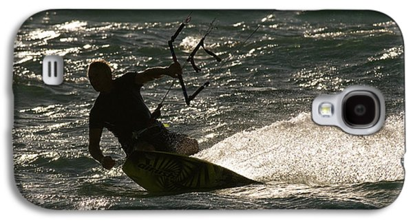 Kite Surfer 03 Galaxy S4 Case by Rick Piper Photography