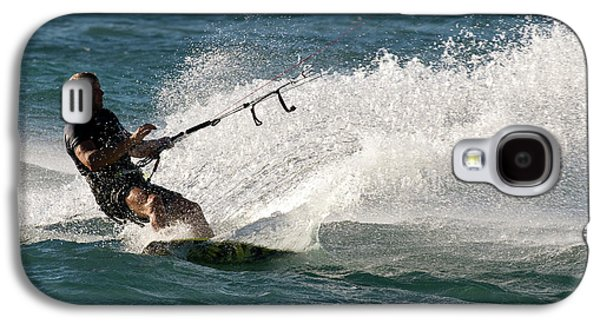 Kite Surfer 04 Galaxy S4 Case by Rick Piper Photography