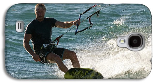 Kite Surfer 05 Galaxy S4 Case by Rick Piper Photography