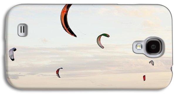 Kite Surfers Galaxy S4 Case