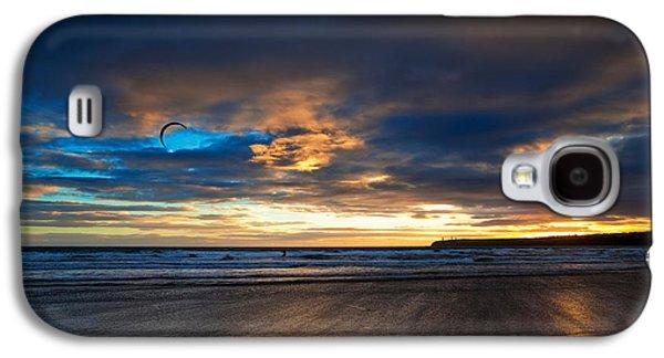 Kite Surfers On Tramore Beach Galaxy S4 Case