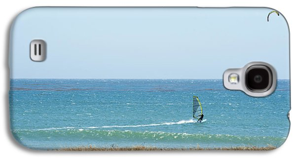 Kite Surfing And Wind Surfing Central Coast San Simeon California Galaxy S4 Case