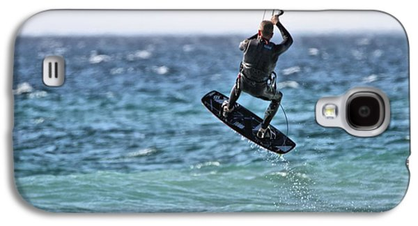 Kite Surfing Take Off Galaxy S4 Case by Dan Sproul