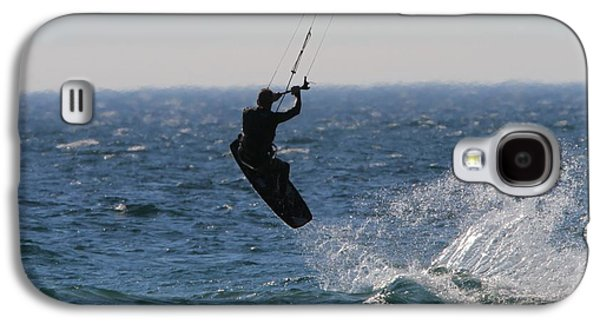 Kite Surfing Wakeboard Galaxy S4 Case by Dan Sproul