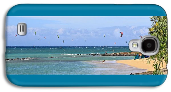 Kitesurfin Kanaha Beach Galaxy S4 Case by DJ Florek