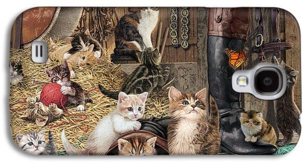 Kitten Capers Galaxy S4 Case