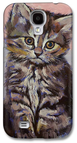 Kitten Galaxy S4 Case by Michael Creese