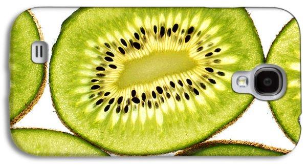 Kiwi Fruit IIi Galaxy S4 Case by Paul Ge