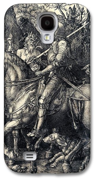 Engraving Galaxy S4 Case - Knight Death And The Devil by Albrecht Durer