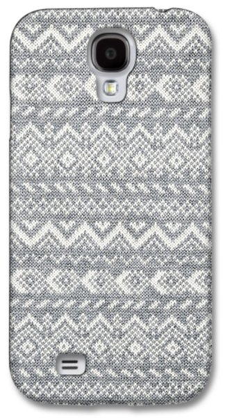 Knit Pattern Abstract Galaxy S4 Case