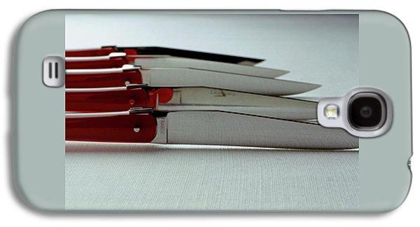 Knives Galaxy S4 Case by Romulo Yanes