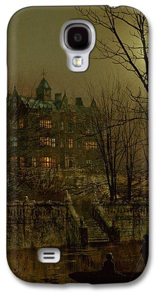 Knostrop Old Hall, Leeds, 1883 Galaxy S4 Case by John Atkinson Grimshaw